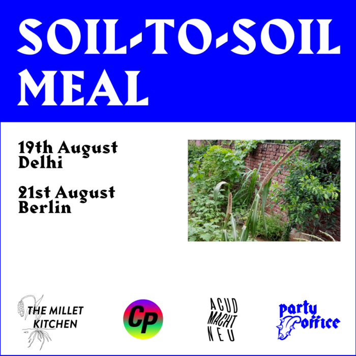 Soil-To-Soil Meal
